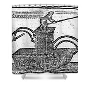 Fire Engine, 1769 Shower Curtain by Granger