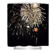 Fireworks Shower Curtain by Michelle Calkins
