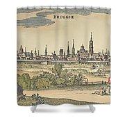 Flanders: Bruges, 1720 Shower Curtain by Granger