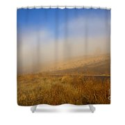 Fog Bow At Lookout Point Shower Curtain by Mike  Dawson