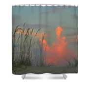 Foggy Oats Shower Curtain by Kristin Elmquist