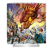 For Love  Shower Curtain by Adrian Chesterman
