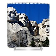 Fortitude In America Shower Curtain by Karen Wiles