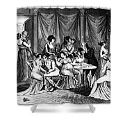 France: Consulate Life Shower Curtain by Granger