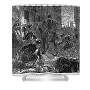 France: Massacre, 1572 Shower Curtain by Granger