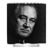 Franklin Delano Roosevelt  - President Of The United States Of America Shower Curtain by International  Images