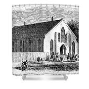 FREEDMEN SCHOOL, 1867 Shower Curtain by Granger