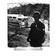 Freedom Riders, 1961 Shower Curtain by Granger
