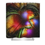Fruit Of The Forest Shower Curtain by Amanda Moore