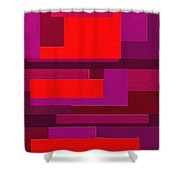 Funky Shower Curtain by Ely Arsha
