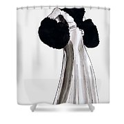 Fur Coat Shower Curtain by Mel Thompson