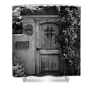 Garden Doorway 2 Shower Curtain by Perry Webster
