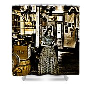 General Store Harpers Ferry Shower Curtain by Bill Cannon