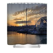 Genoa Shower Curtain by Joana Kruse