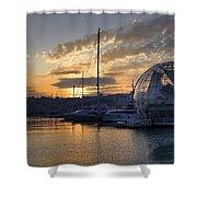 Genoa Shower Curtain by Joana Kruse