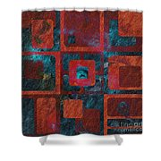 Geomix 02 - Sp07c03b Shower Curtain by Variance Collections