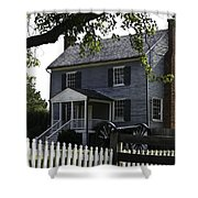 George Peers House Appomattox Virginia Shower Curtain by Teresa Mucha