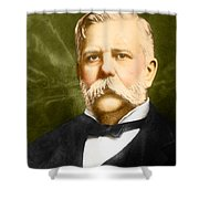 George Westinghouse Shower Curtain by Photo Researchers