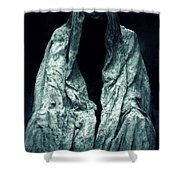 Ghost Shower Curtain by Joana Kruse