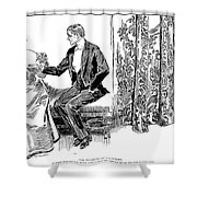 Gibson: Palmistry, 1897 Shower Curtain by Granger