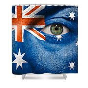 Go Australia Shower Curtain by Semmick Photo