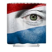 Go Luxembourg Shower Curtain by Semmick Photo