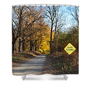 Gods Country Shower Curtain by Bill Cannon