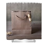 Going Shopping 03 Shower Curtain by Nailia Schwarz