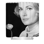 Grace Kelly (1928-1982) Shower Curtain by Granger