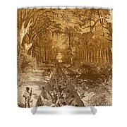 Grants Canal, 1862 Shower Curtain by Photo Researchers