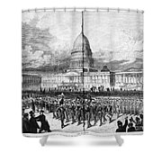 GRANTS INAUGURATION, 1873 Shower Curtain by Granger
