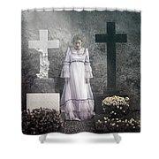 Graves Shower Curtain by Joana Kruse
