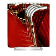 Great Pipes Shower Curtain by Vivian Christopher