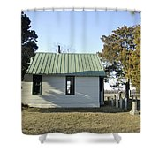 Griffiths Chapel Shower Curtain by Brian Wallace