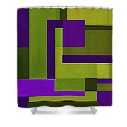 Groovy Shower Curtain by Ely Arsha