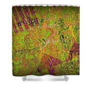 Grunge Background 4 Shower Curtain by Carlos Caetano