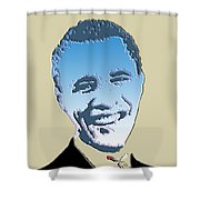 hail to the chief Shower Curtain by Robert Margetts