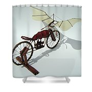 Half Light Shower Curtain by Jim Casey