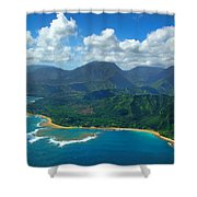 Hanalei Bay 2 Shower Curtain by Ken Smith
