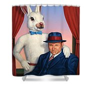 Harvey And Randall Shower Curtain by James W Johnson