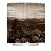 Hawk Mountain Sanctuary S Shower Curtain by David Dehner