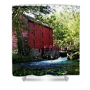 Heart Of The Ozarks Shower Curtain by Lianne Schneider