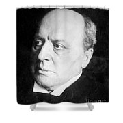 Henry James, American-born British Shower Curtain by Photo Researchers