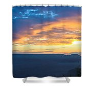 Here Comes The Sun Shower Curtain by Heidi Smith