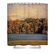 Hidden Cove Shower Curtain by Jai Johnson