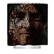 Hollowman Shower Curtain by Christopher Gaston