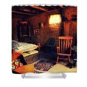 Home Sweet Home 2 Shower Curtain by Susanne Van Hulst