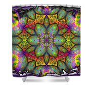 Home Sweet Home Shower Curtain by Robert Orinski