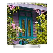 House Of Blues Shower Curtain by Rene Triay Photography