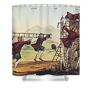 Humpty Dumpty, 1843 Shower Curtain by Granger